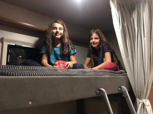 Dormire in camper
